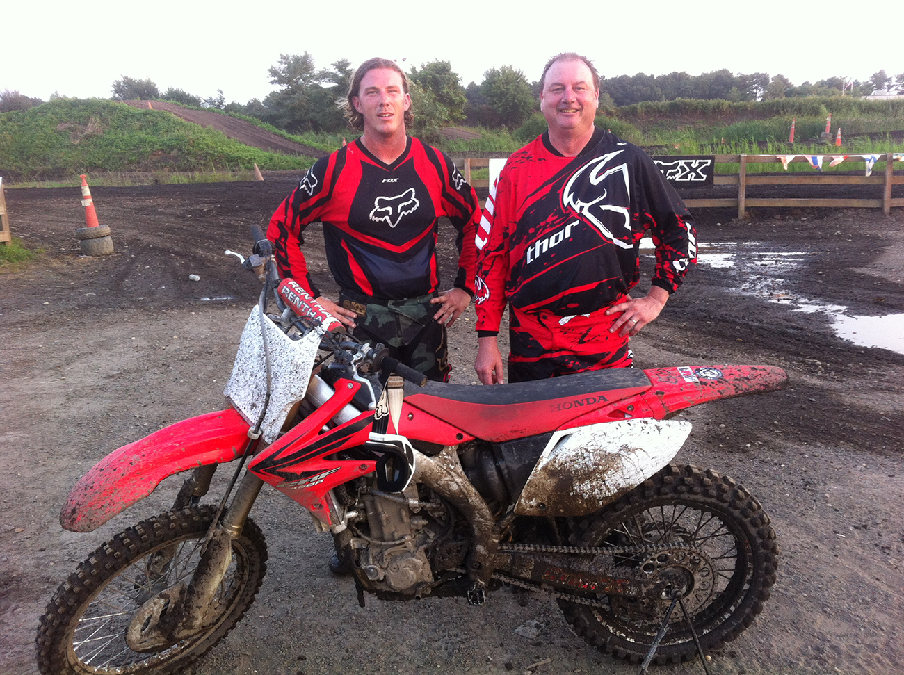 Brian and Greg Johnston of Ponquoge Power Sports - An experienced team of mechanics.
