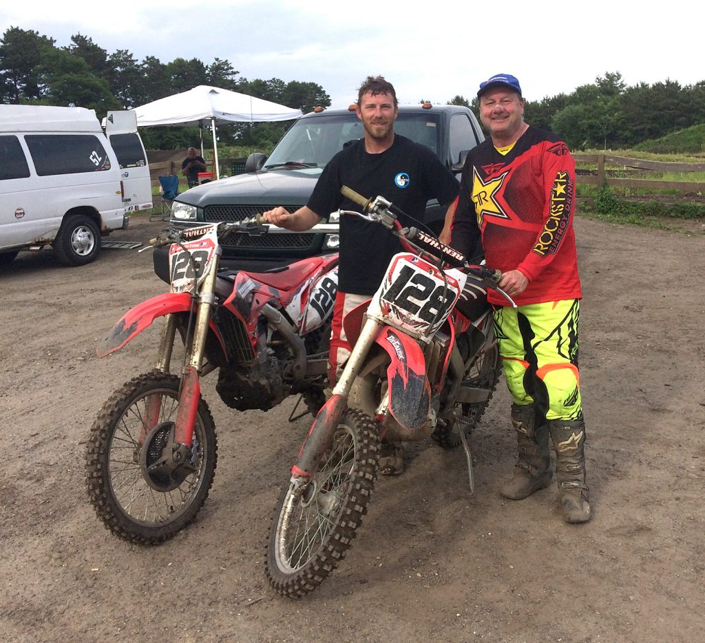 Brian and Greg Johnston of Ponquoge Power Sports – An experienced team of mechanics.